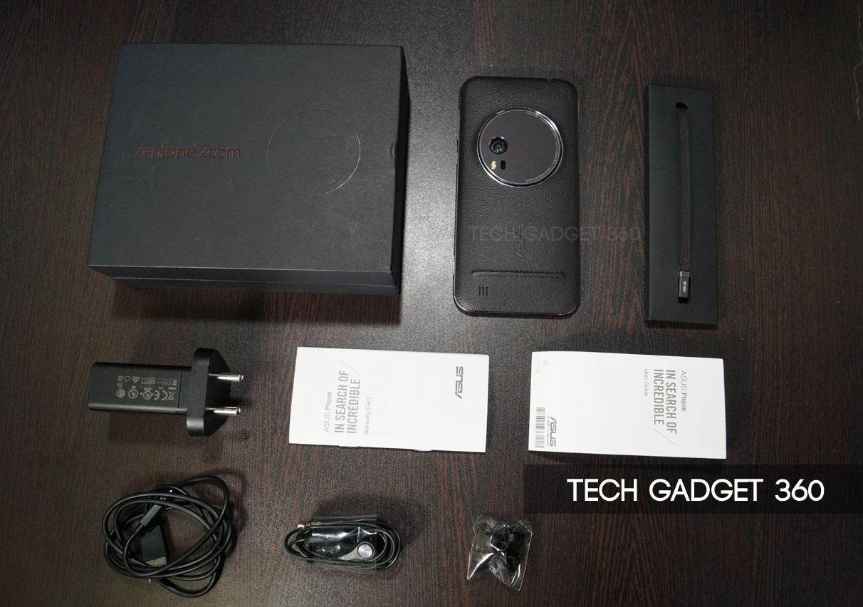 Contenuto confezione Asus Zenfone zoom - Accessori scatola con video unboxing