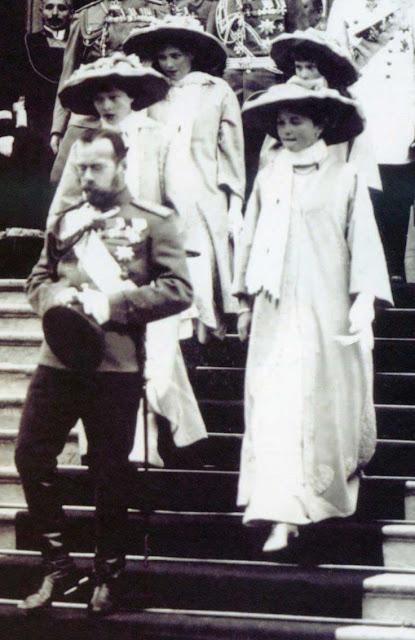 Czar Nicolau II e filhas