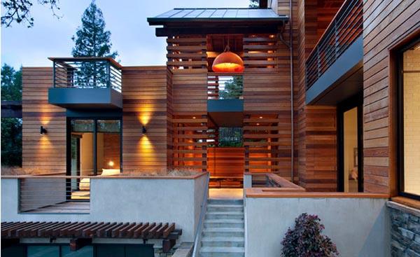 Sumber: desain-rumah.org & 70 Desain Rumah Kayu Minimalis Sederhana dan Klasik | Desainrumahnya.com