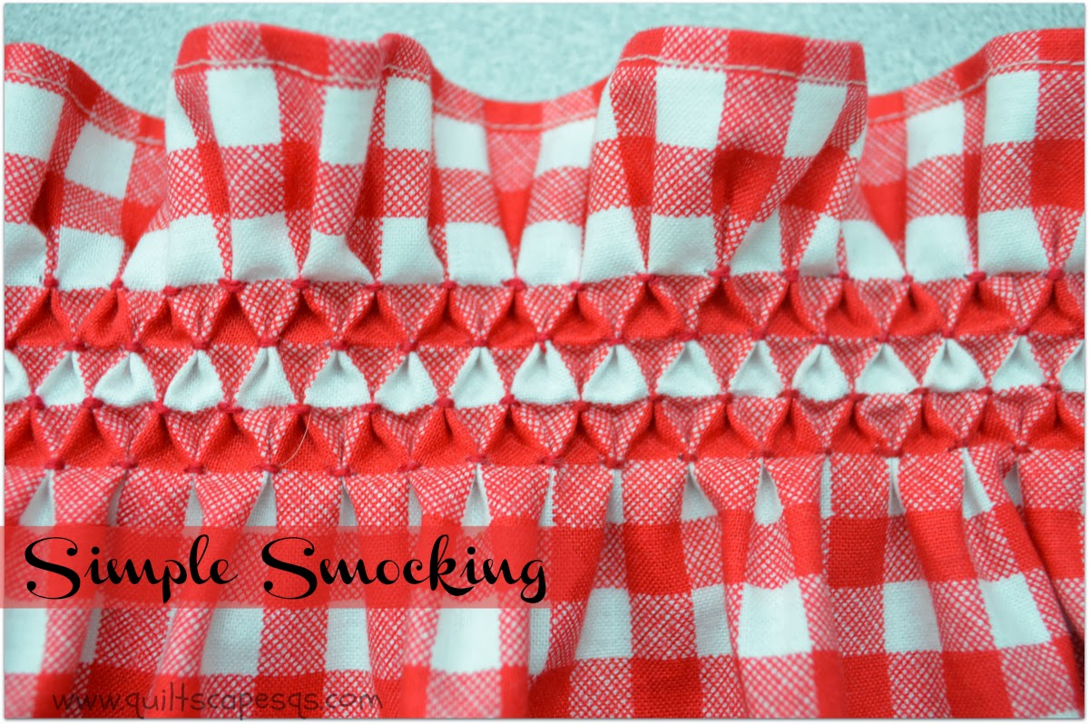 2019 year looks- Smocking simple
