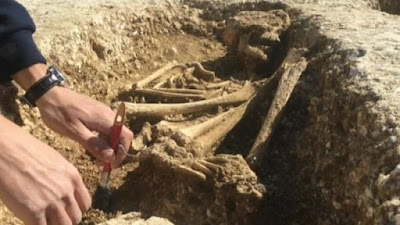Saxon cemetery discovered at Bulford, Wiltshire
