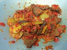 Resep Balado Daging campur Jengkol Terbaru