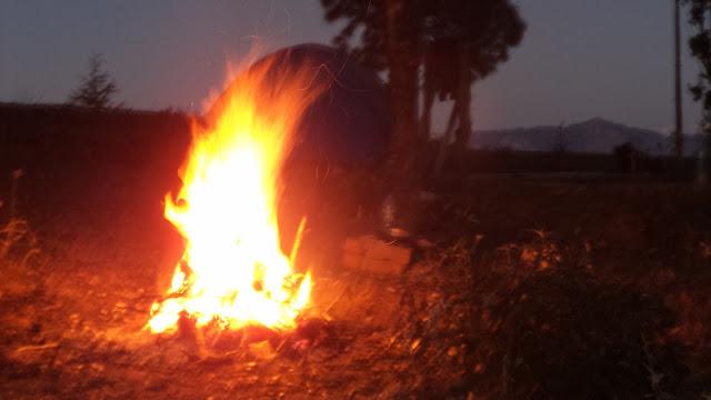 camping abott mount uttrakhand india kumaon