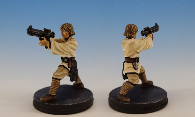 Luke Skywalker, Imperial Assault FFG (2014, sculpted by Benjamin Maillet)
