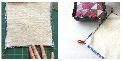 Travel Design Board Tutorial | fabric and flowers by Sonia Spence