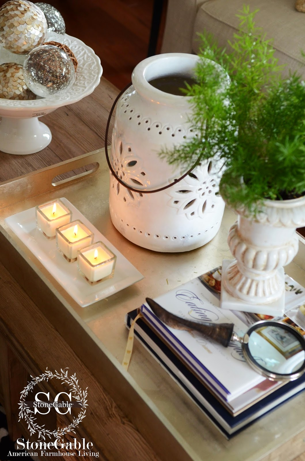Image Result For Simple Coffee Table Styling