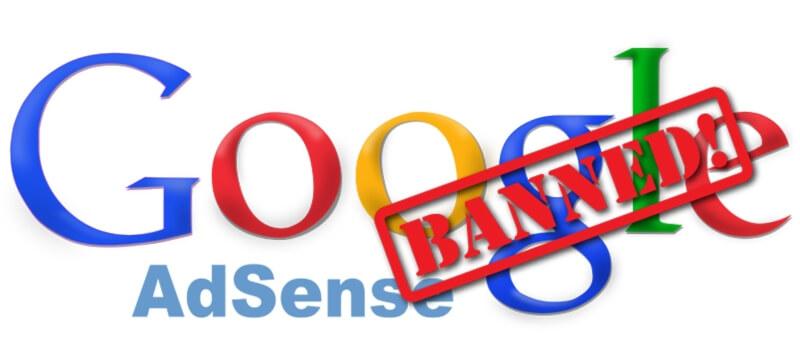 google banned image