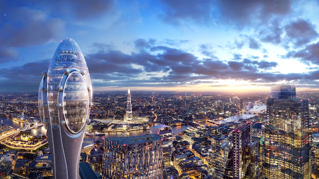 London Approves the Norman Foster–Designed Tulip Tower