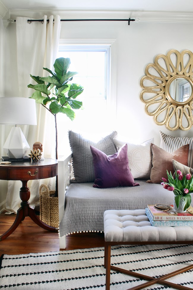 Interior Design Of Guest Room: Hunted Interior: A Look Into Our Guest Bedroom & Office