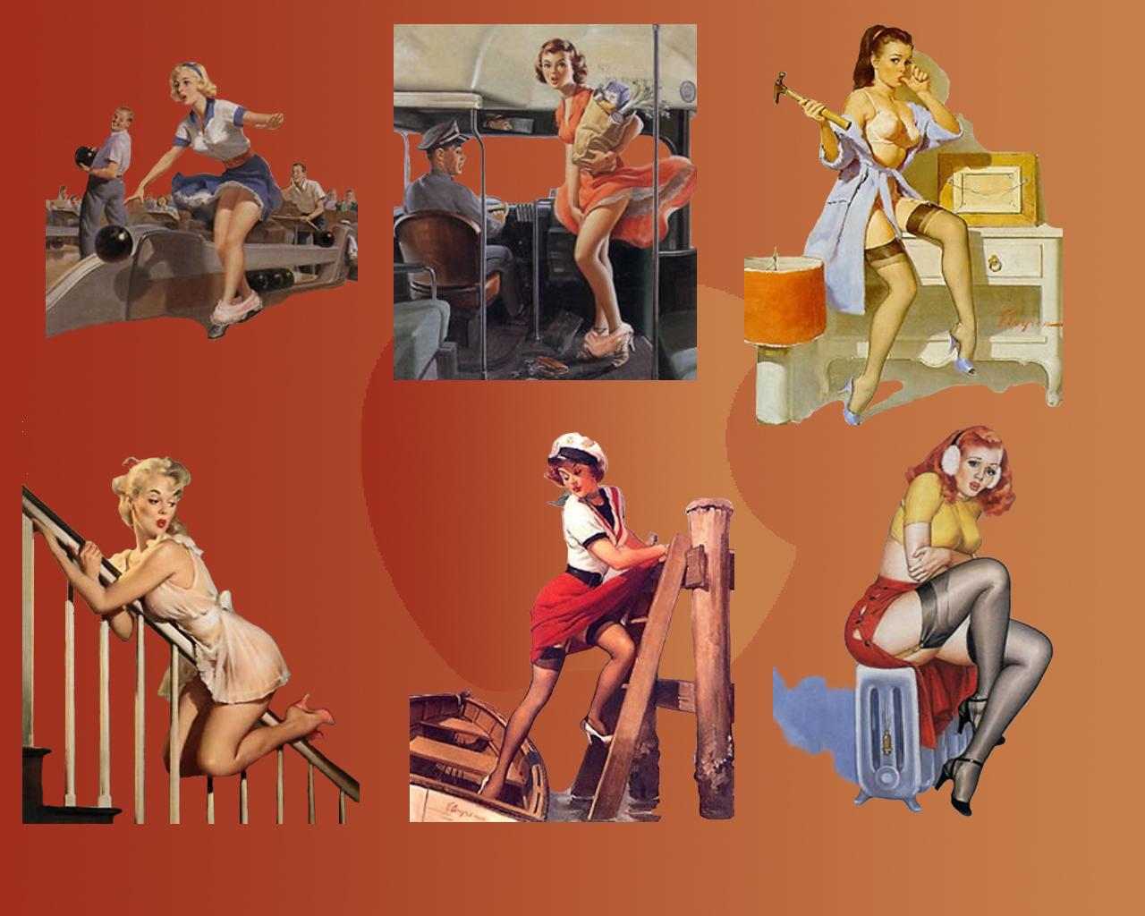 High Resolution Wallpaper: Pin-up Girls Wallpapers