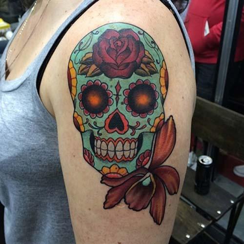 erkek üst kol dövme modelleri upper arm tattoos for men 3