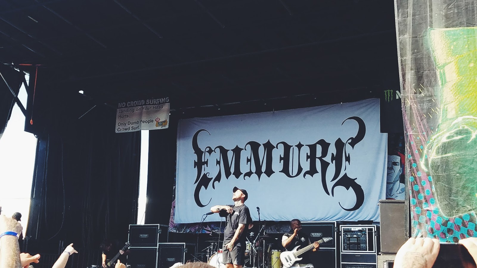 Courtney Tomesch Vans Warped Tour 2017 San Diego California Emmure