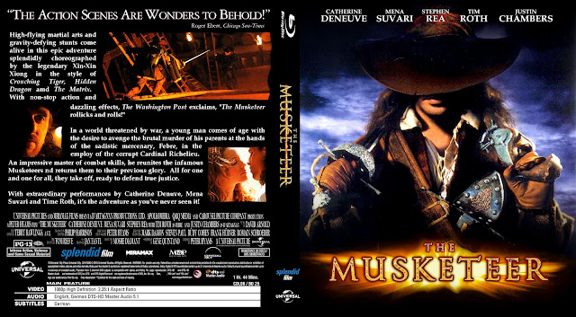 The Musketeer (2001) Bluray Cover