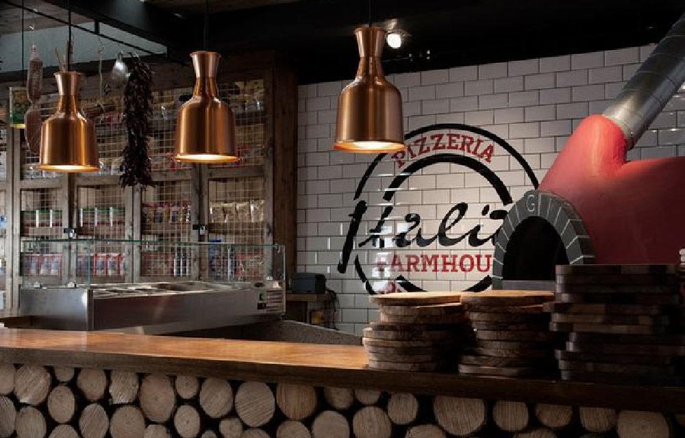 Progettare un locale commerciale dall altra parte del for Pizzeria arredamento