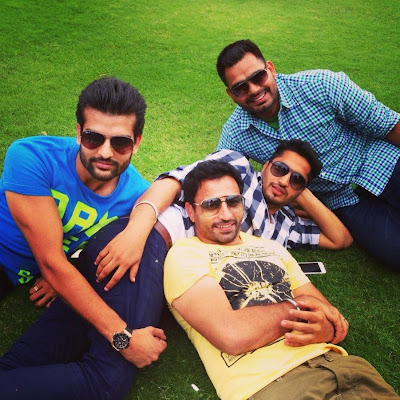 Vinaypal, Prabh and Jassi Gill At Yuvraj Hans's Farm House