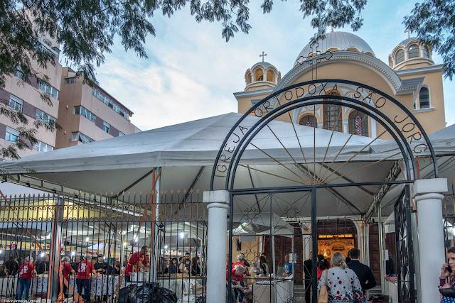 Festa Julina na Igreja Ortodoxa São Jorge