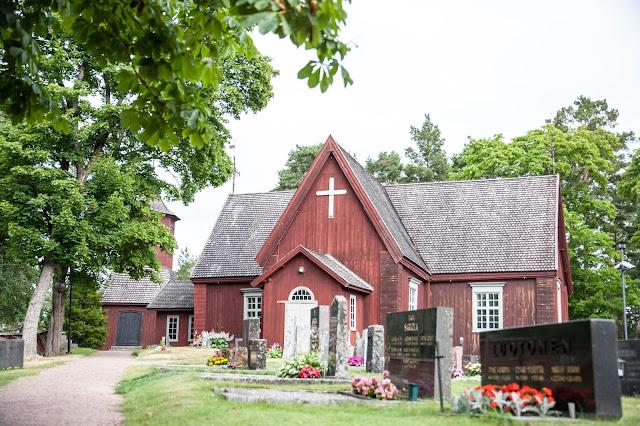 merimasku kirkko
