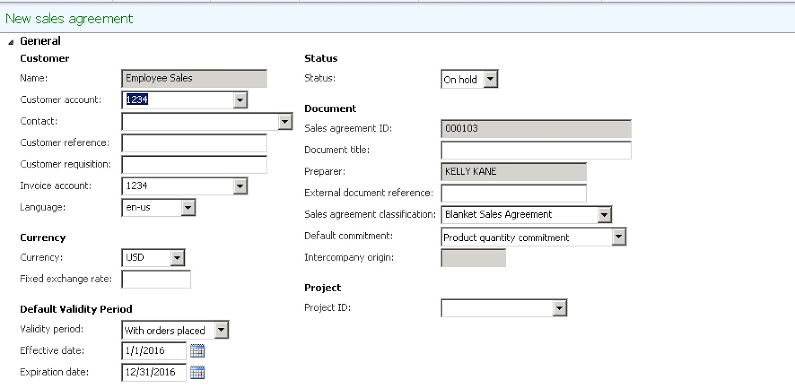 Using Sales Agreements In Ax In An Unorthodox Manner Hint To