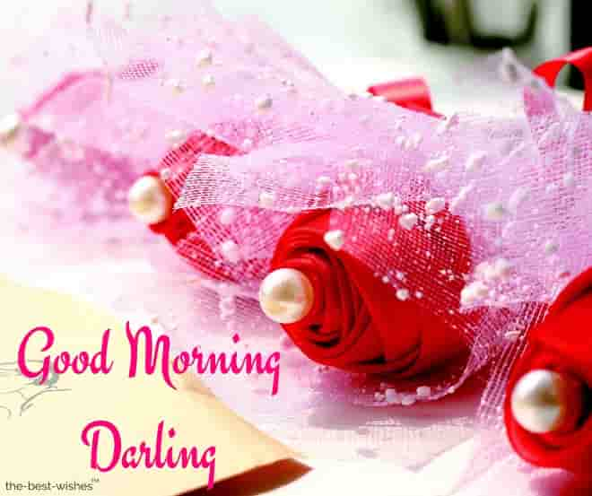 good morning darling photo