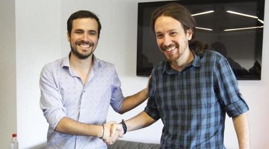 Alberto Garzón aboga por la confluencia con Podemos para derrotar al PP y C's