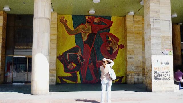 Homenaje al Hombre Americano Autor Oswaldo Guayasamin, #Caracas, #Venezuela, Fotografía Gladys Calzadilla, 2019