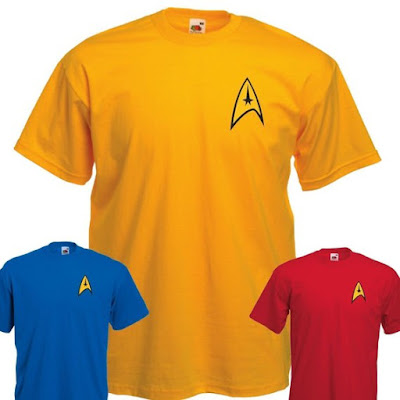 Star Trek Uniform T Shirt
