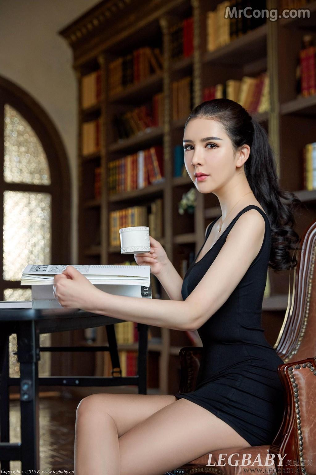 Image MrCong.com-LegBaby-Vol.021-Li-Li-Sha-002 in post LegBaby Vol.021: Người mẫu Li Li Sha (李丽莎) (80 ảnh)