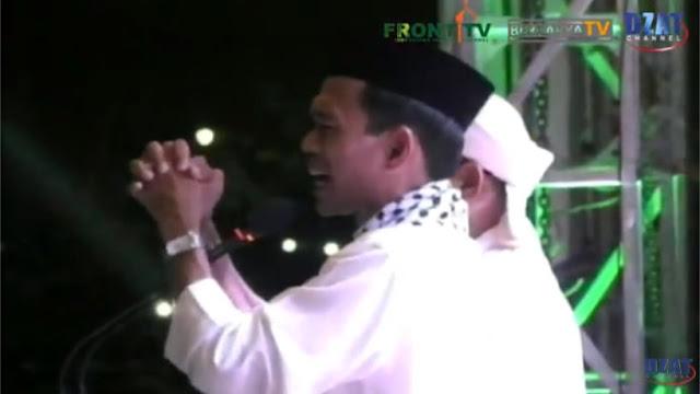 Hadiri Doa Untuk Bangsa di Monas, Ustaz Somad Doakan Keselamatan HRS