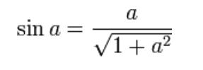 persamaan sin x