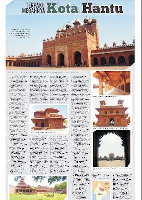 Fatehpur Sikri Tayang di Koran Kedaulatan Rakyat