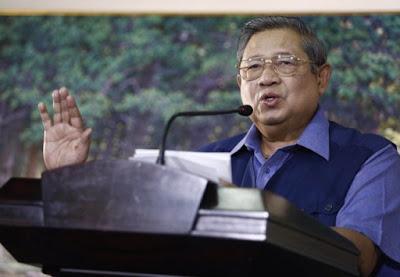 SBY kala pidato di Cikeas