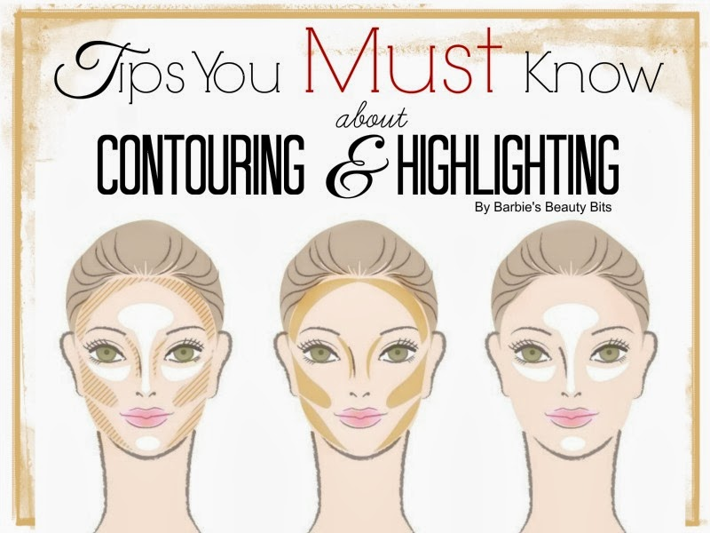 Tips You Must Know About Contouring and Highlighting, By Barbie's Beauty Bits