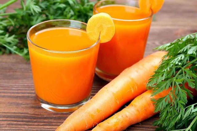 manfaat jus wortel