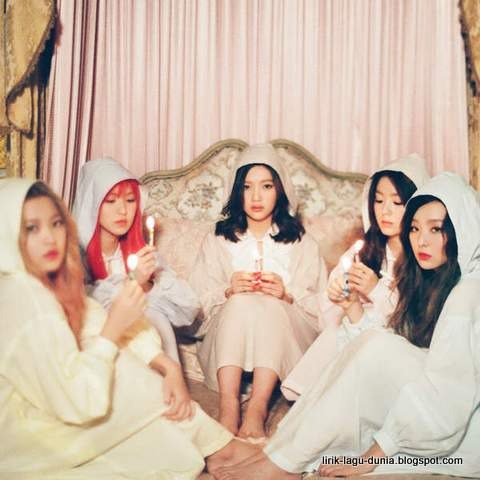 Lirik Lagu Red Velvet - One of These Night