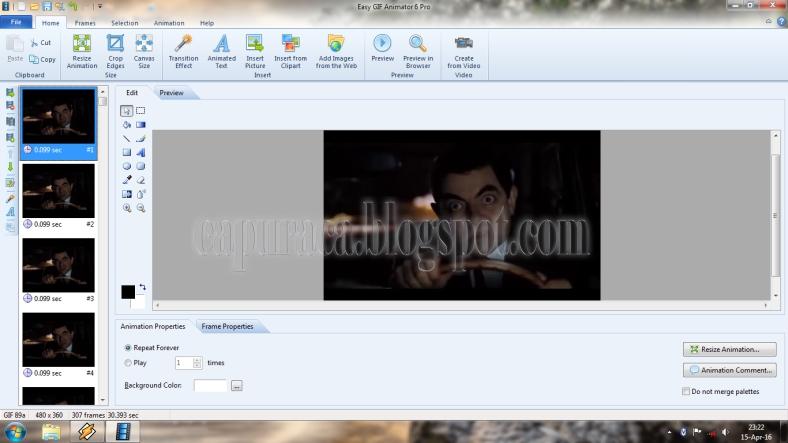 Cara Mudah Membuat file GIF dari Video - chapuracha