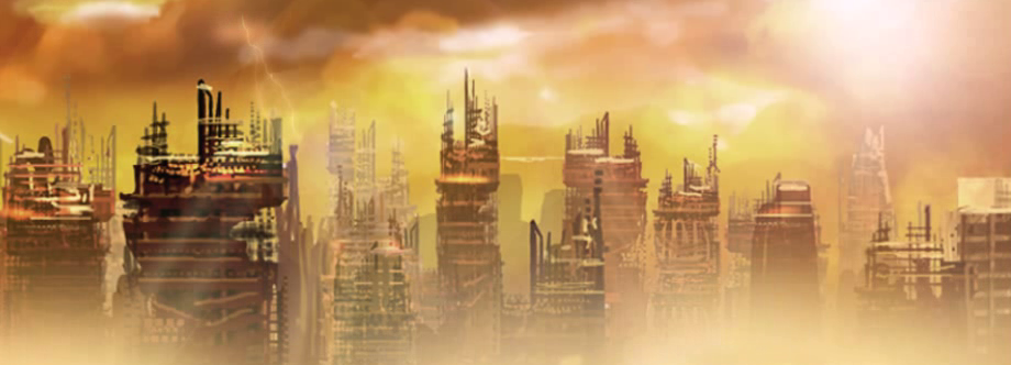 Ruinas de una ciudad.