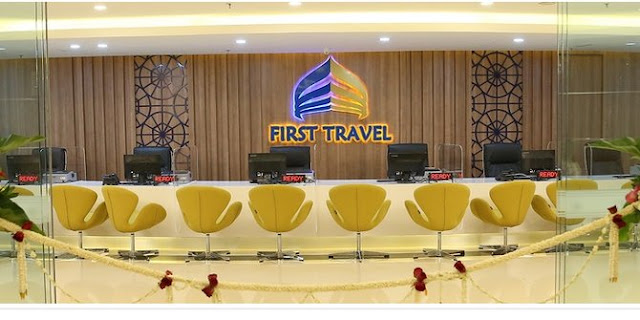 Dari daftar 72.000 jemaah, baru 14.000 diterbangkan First Travel
