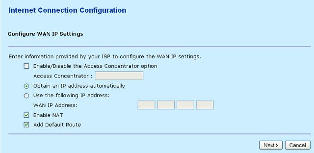 nokia m1122 default ip address