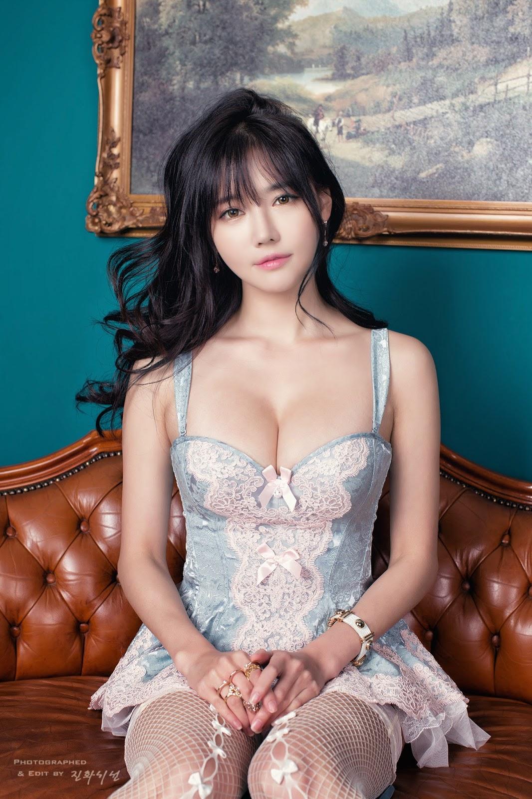 Ngắm gái xinh Hàn Quốc ngực khủng