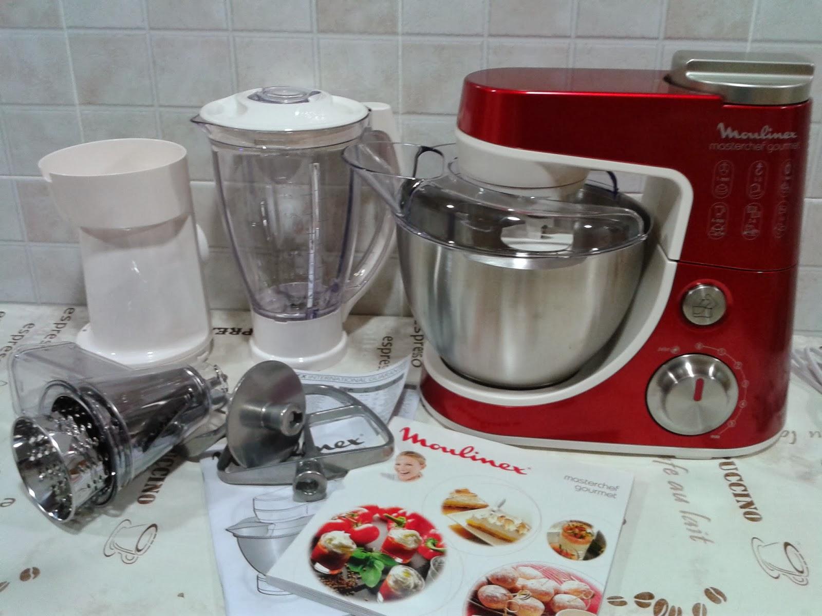 Recetas con encanto estrenando mi masterchef gourmet for Robot cocina masterchef