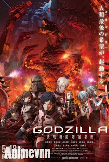 Godzilla: City on the Edge of Battle - GODZILLA 2: KESSEN KIDOU ZOUSHOKU TOSHI 2018 Poster