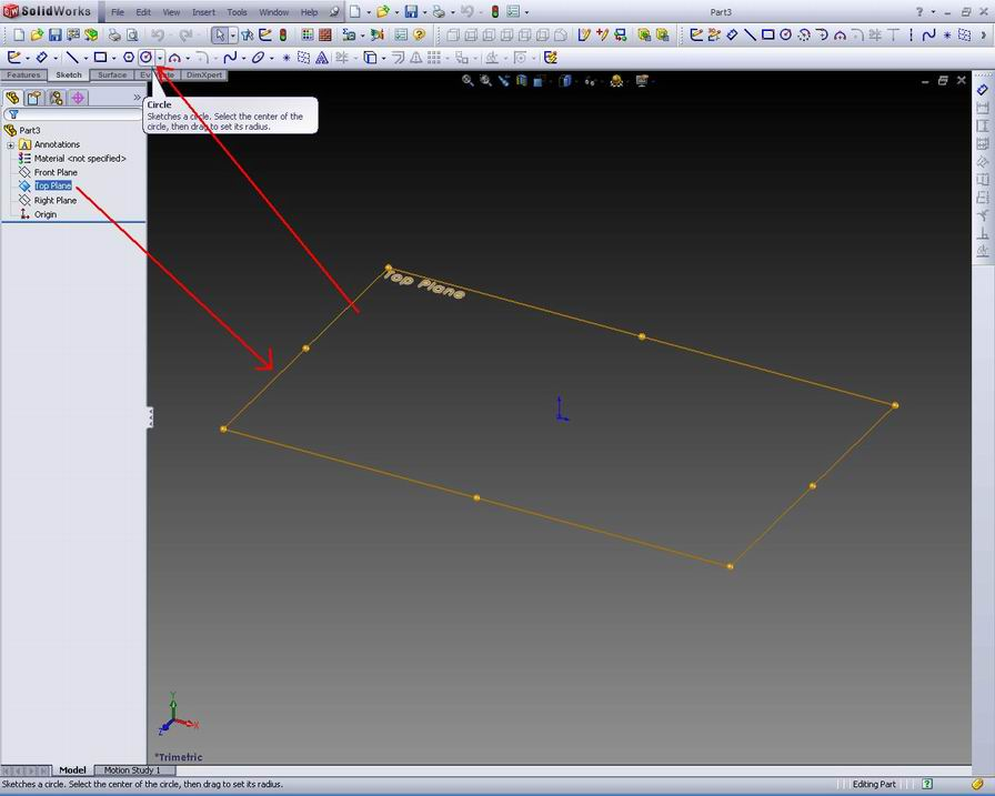 SOLIDWORKS DESIGN SIMPLE TUTORIAL Step by step to create