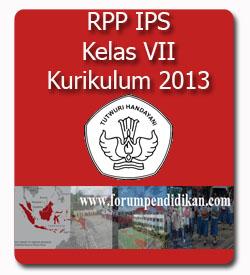 Contoh RPP Mata Pelajaran IPS SMP | Kurikulum 2013