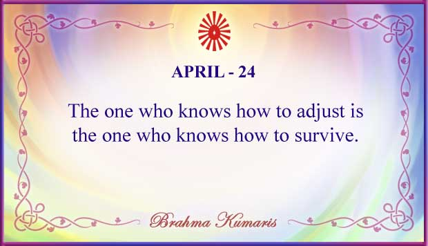 Thought For The Day April 24