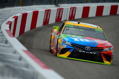 Kyle Busch, driver of the #18 M&M's Toyota - #NASCAR