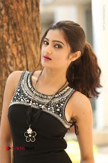 Actress Poojitha Pallavi Naidu Stills in Black Short Dress at Inkenti Nuvve Cheppu Movie Platinum Disc Function  0102.JPG