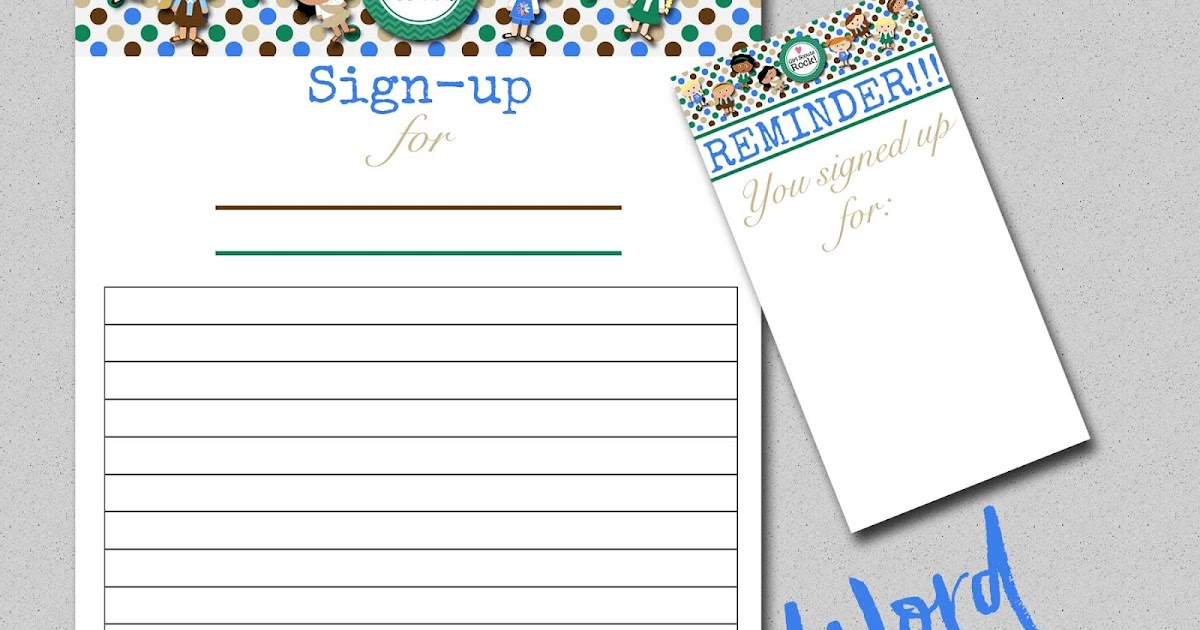 my fashionable designs  girl scouts free printable  sign