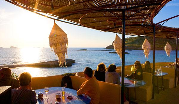Sunset Ashram na Cala Conta em Ibiza