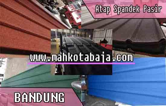 jual atap spandek pasir di Bandung, jual atap spandek pasir di Bandung per meter, jual atap spandek pasir di Bandung per lembar, harga atap spandek pasir Bandung