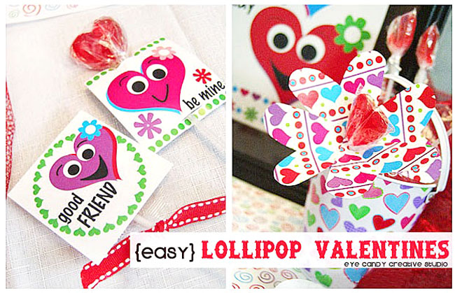 easy lollipop valentines, kids valentines ideas, valentines kid craft